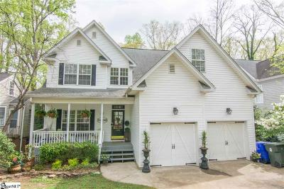 Greenville Single Family Home For Sale: 220 E Augusta