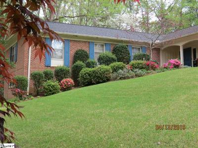 Greenville Single Family Home For Sale: 218 Sweetbriar