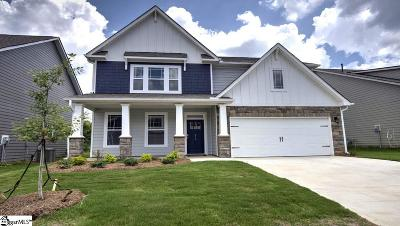 Simpsonville Single Family Home For Sale: 210 Raleighwood