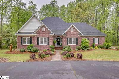 Simpsonville Single Family Home For Sale: 210 Club