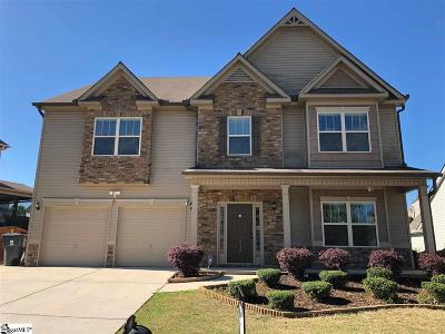 Simpsonville Single Family Home For Sale: 415 River Summit
