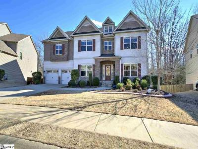 Simpsonville Single Family Home For Sale: 142 Creek-Shoals