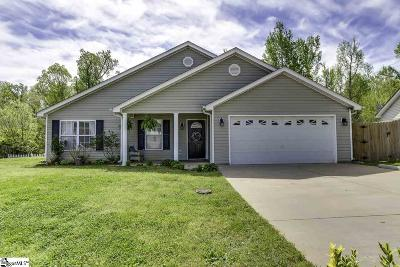 Fountain Inn Single Family Home Contingency Contract: 1803 Country Apple