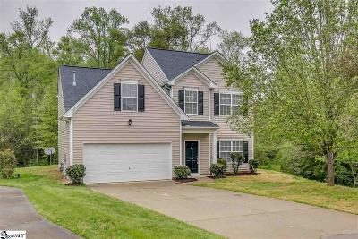 Simpsonville Single Family Home For Auction: 109 Welsford
