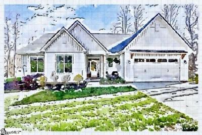 Greer Single Family Home For Sale: Barnett