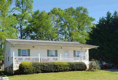 Inman Single Family Home For Sale: 1234 Holly Springs