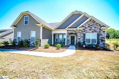 Simpsonville Single Family Home For Sale: 104 Cooper Oaks