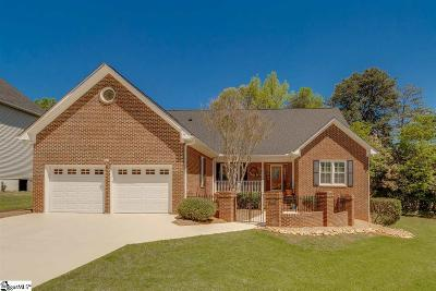 Greer Single Family Home For Sale: 105 Hadrian