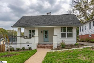 Greenville Single Family Home For Sale: 7 McAdoo