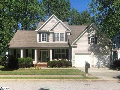 Simpsonville Single Family Home Contingency Contract: 549 Kingsmoor
