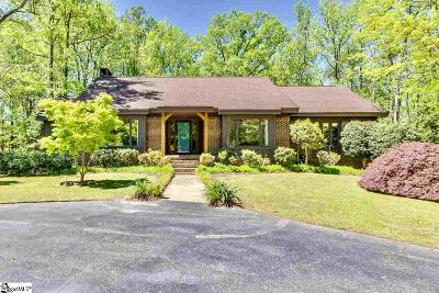 Greenville Single Family Home For Sale: 107 Highbourne