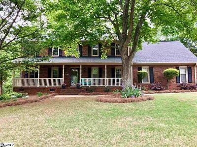 Greenville Single Family Home For Sale: 100 Briton