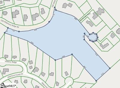 Greenville Residential Lots & Land For Sale: 110 Old Altamont Ridge