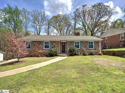 Greenville Single Family Home Contingency Contract: 204 Lowndes