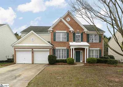 Greer Single Family Home For Sale: 8 Bradwell