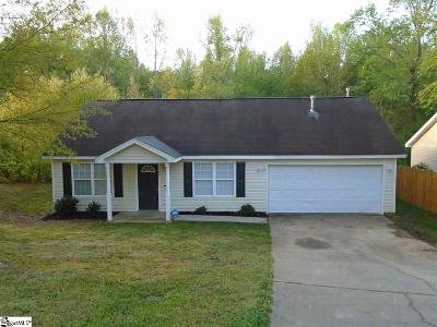 Greer Single Family Home For Sale: 104 Greenleaf