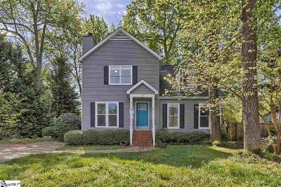 Greenville SC Single Family Home For Sale: $324,900