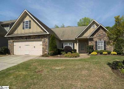 Simpsonville Single Family Home For Sale: 15 Raven Falls
