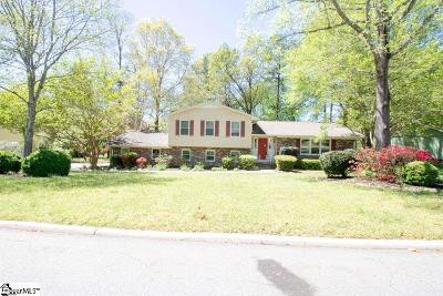 Easley Single Family Home For Sale: 210 Buckingham
