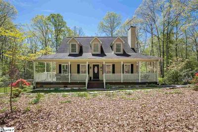Easley Single Family Home For Sale: 208 Homestead