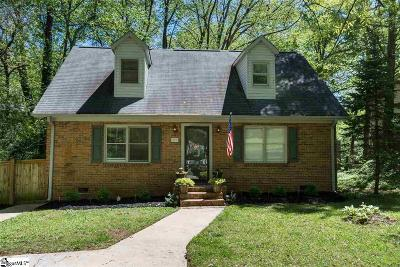 Greenville Single Family Home For Sale: 109 Scarlett