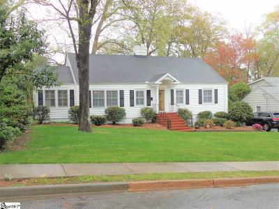 Greenville Single Family Home For Sale: 35 Club