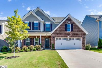 Greer Single Family Home For Sale: 22 Dauphine