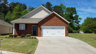 Easley Single Family Home For Sale: 116 Tupelo