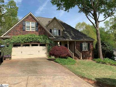 Spartanburg Single Family Home Contingency Contract: 443 Maplecroft