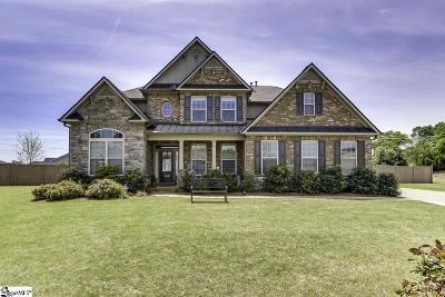 Greer Single Family Home For Sale: 208 Gracefield