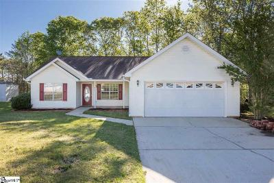 Mauldin Single Family Home For Sale: 400 Hill