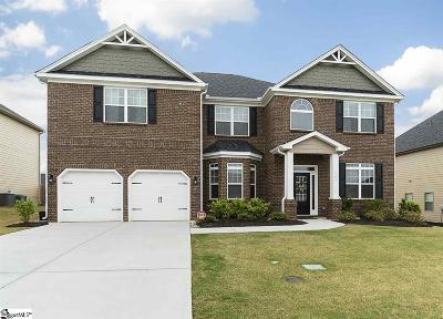 Simpsonville Single Family Home For Sale: 101 Foxhill