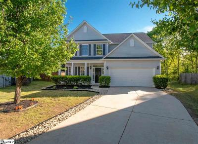 Greer Single Family Home For Sale: 111 Derry