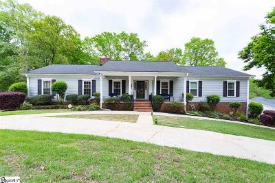 Spartanburg Single Family Home For Sale: 292 Heathwood