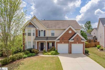 Simpsonville Single Family Home For Sale: 9 Glenbow