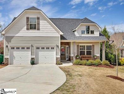 Greenville SC Single Family Home For Sale: $310,000