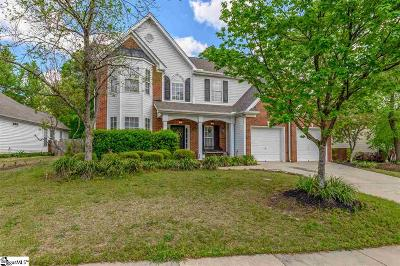 Simpsonville Single Family Home For Sale: 103 Saybrook