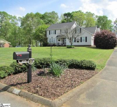 Spartanburg Single Family Home Contingency Contract: 104 Shenandoah