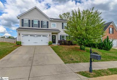 Simpsonville Single Family Home For Sale: 5 Santee