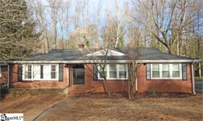 Greenville Single Family Home For Sale: 211 Bradley
