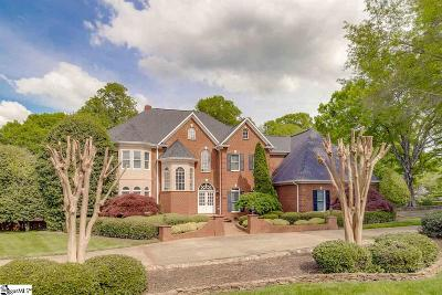 Greenville Single Family Home For Sale: 114 Northbrook