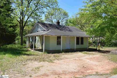 Greer Single Family Home For Sale: 600 Snow #Tract B