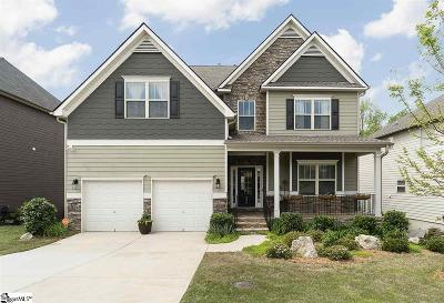 Simpsonville Single Family Home For Sale: 335 Bridge Crossing