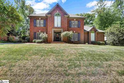 Simpsonville Single Family Home For Sale: 504 River Walk