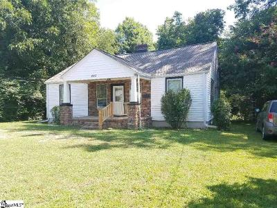 Laurens Single Family Home For Sale: 442 Church