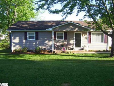 Inman Single Family Home For Sale: 139 Everest