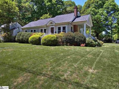 Greenville Single Family Home For Sale: 100 Vintage