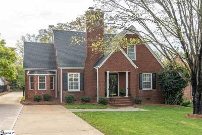 Greenville Single Family Home For Sale: 1108 N Main