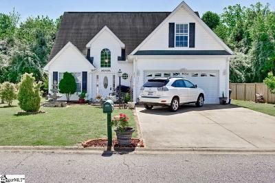 Easley Single Family Home Contingency Contract: 253 Rivers Edge