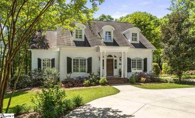 Greenville Single Family Home Contingency Contract: 408 Chapman